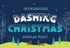 Dashing Christmas Font