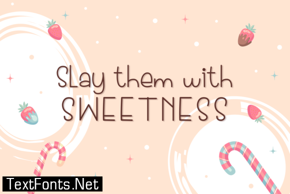 Donut & Candy Font