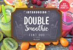 Double Smoothie Font