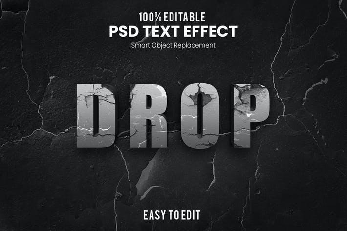 Drop-3D Text Effect SJDBPH4