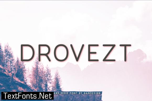 Drovezt Font