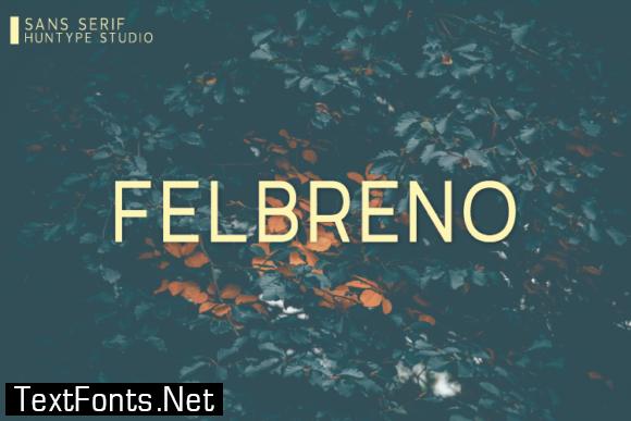 Felbreno Font