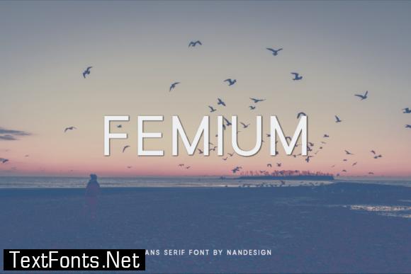 Femium Font