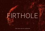 Firthole Font