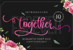Forever Together Duo Font