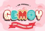 GEMOY - Fun Layered Font