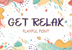 Get Relax Font