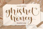 Ghisel Honey Bouncy Script LS Font