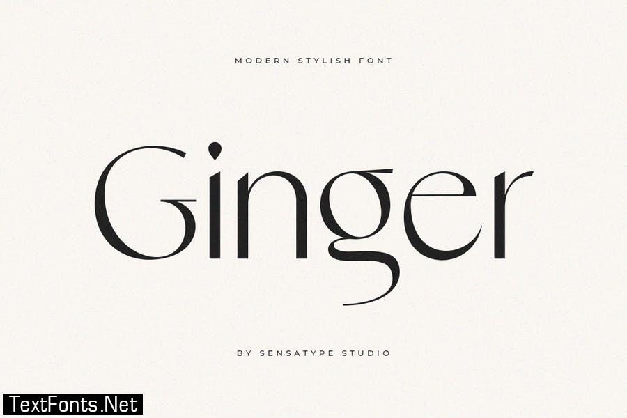 Ginger - Modern Stylish Font
