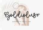 Goldiolus Font