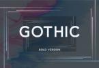 Gothic Bold Font