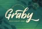 Graby - Bold Script Font