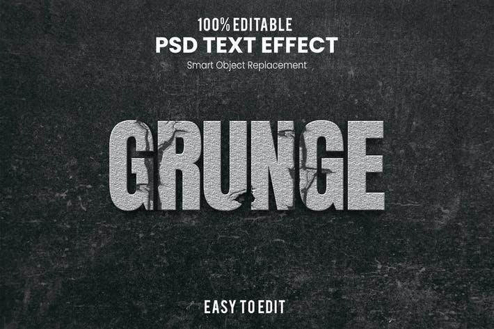 Grunge-3D Text Effect BM3PQEW