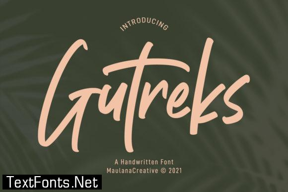 Gutreks Font