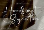 Handscript Signature Font LS