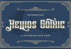 Hellios Gothic Font