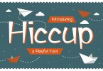 Hiccup – Adorable Playful Font