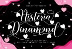 Histeria Dinamond Font