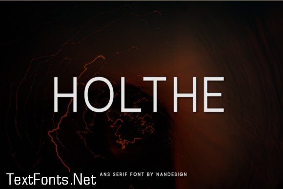 Holthe Font