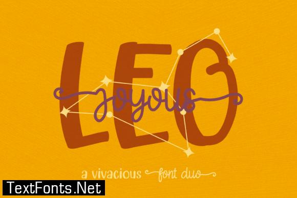 Joyous Leo Font
