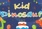 Kid Dinosaur Font