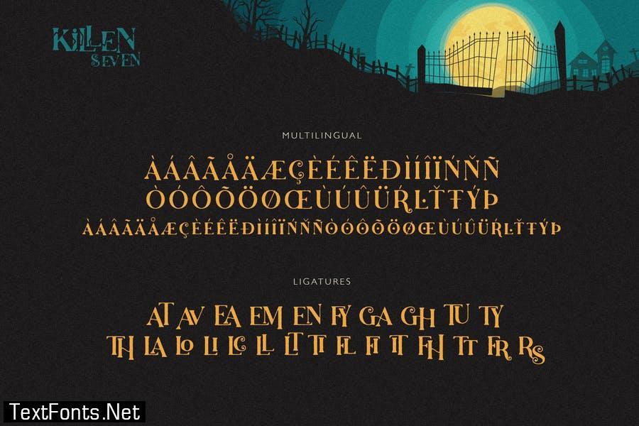 Killen Seven Font