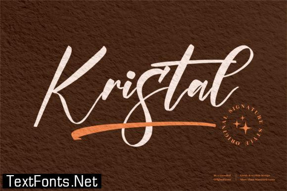 Kristal Font