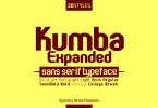 Kumba Expanded Font
