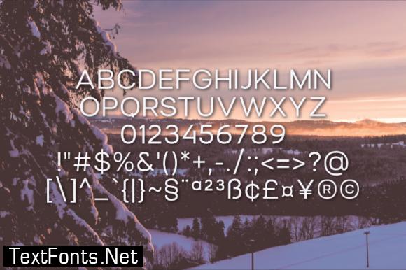 Lancape Font