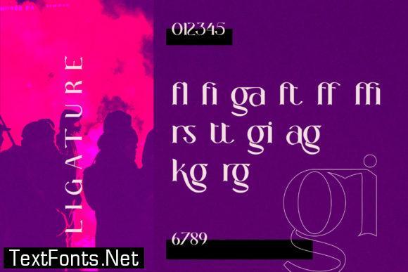 Layne Rogan Font