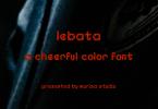 Lebata Font