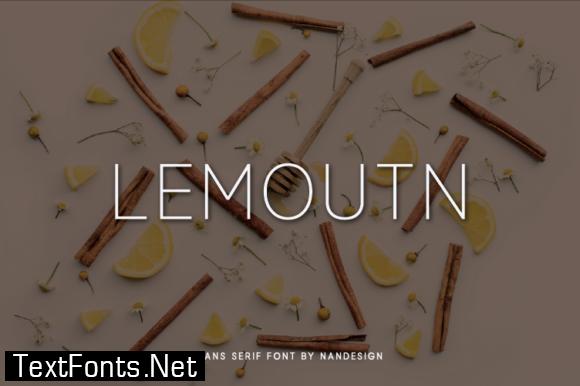 Lemoutn Font