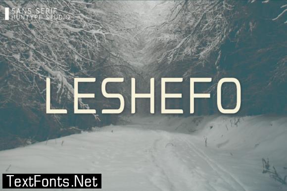 Leshefo Font