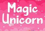 Magic Unicorn Font