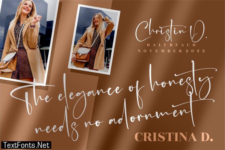 Mantilda Kristine Signature Font LS