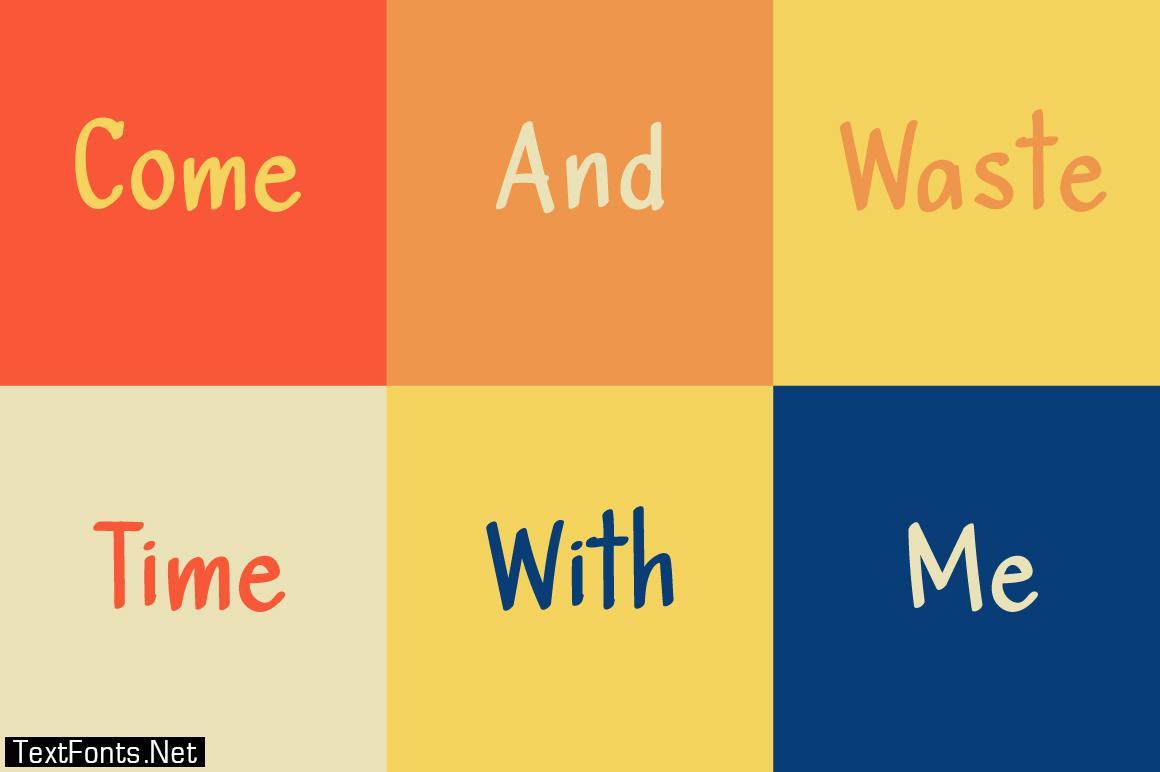 Maple Marker Font