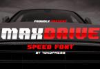 Maxdrive Font