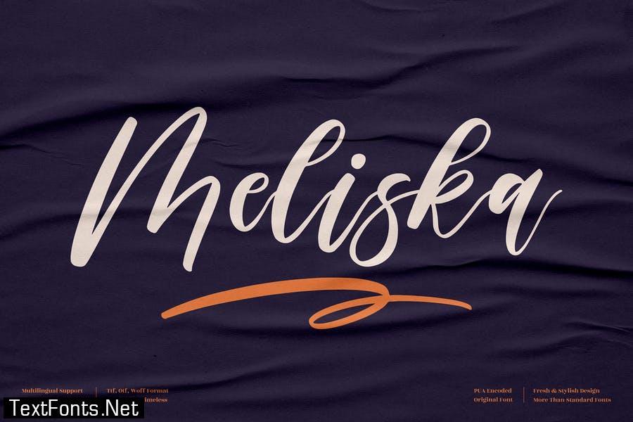Meliska Script Font LS