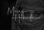 Merry Hamida Font