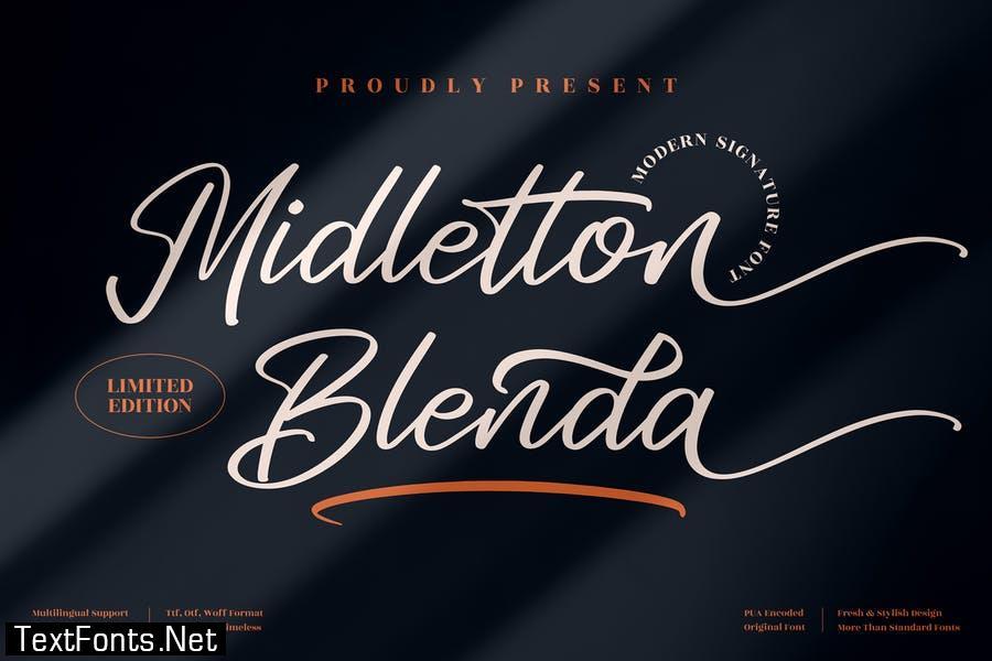 Midletton Blenda Modern Script LS