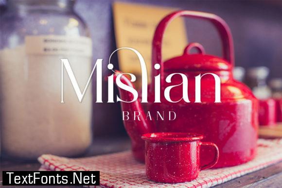 Mislian Font