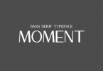 Moment Font