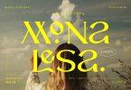 Monalesa - New Vintage Typeface