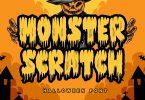 Monster Scratch Font