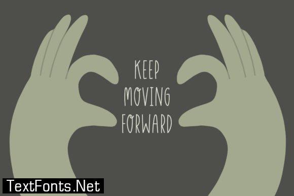 Moving Forward Font