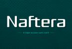 Naftera Family Font