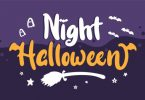 Night Halloween Font