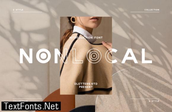 Nonlocal Font