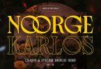 Noorge Karlos Vintage & Classy Display Serif Font