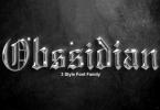 Obssidian Font